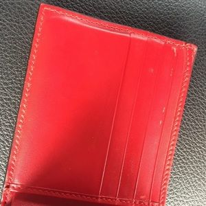 Gucci Accessories - Red Gucci Wallet